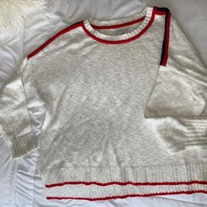 American Eagle Red White & Blue Sweater